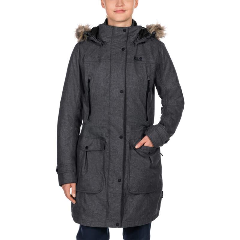 75eb62218bb Женская парка Jack Wolfskin MAJESTIC PEAKS прекрасный вариант на все  сезоны. Внешняя куртка изготовлена из плотного водонепроницаемого  мембранного материала ...