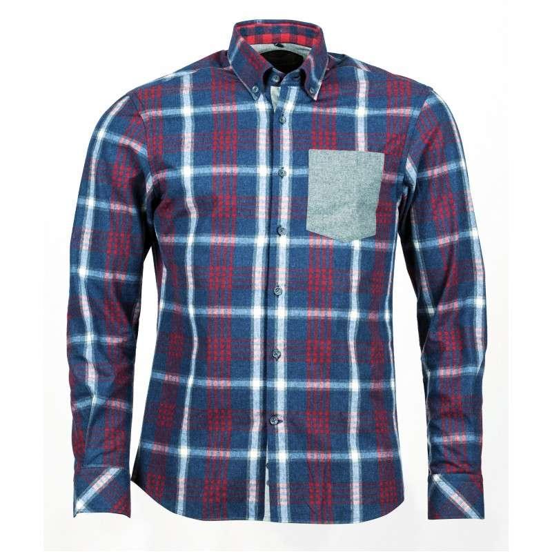 457dc7f7fc8 Рубашка с длинным рукавом Northland Igor Flanellkaro-Langarmhemd прекрасное  приобретение для всех представителей мужского пола